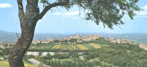 Panorama of Cingoli